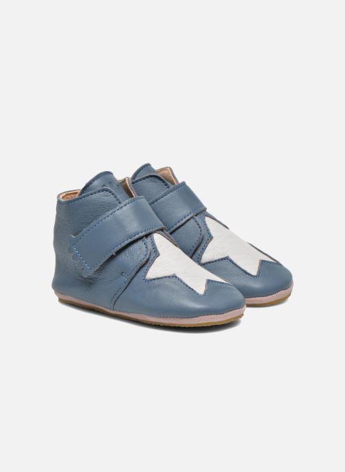 Hjemmesko Easy Peasy Kiny Patin Etoile Blå detaljeret billede af skoene