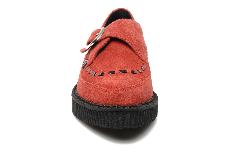 Mocassins T.U.K. CREEPERS Buccle Rouge vue portées chaussures