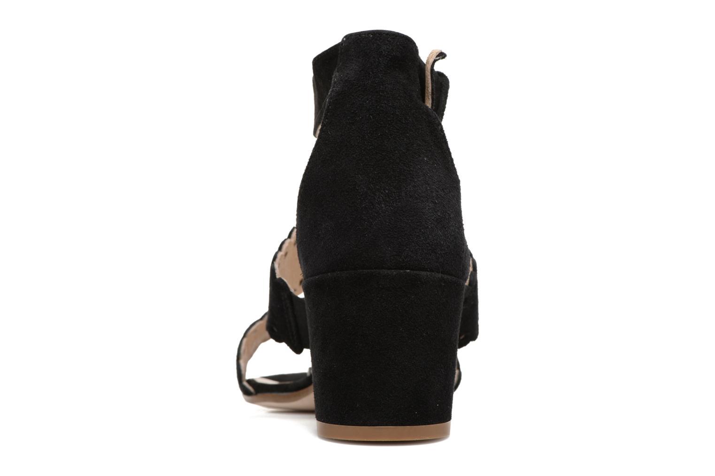 Sandales et nu-pieds Georgia Rose Loupik Noir vue droite