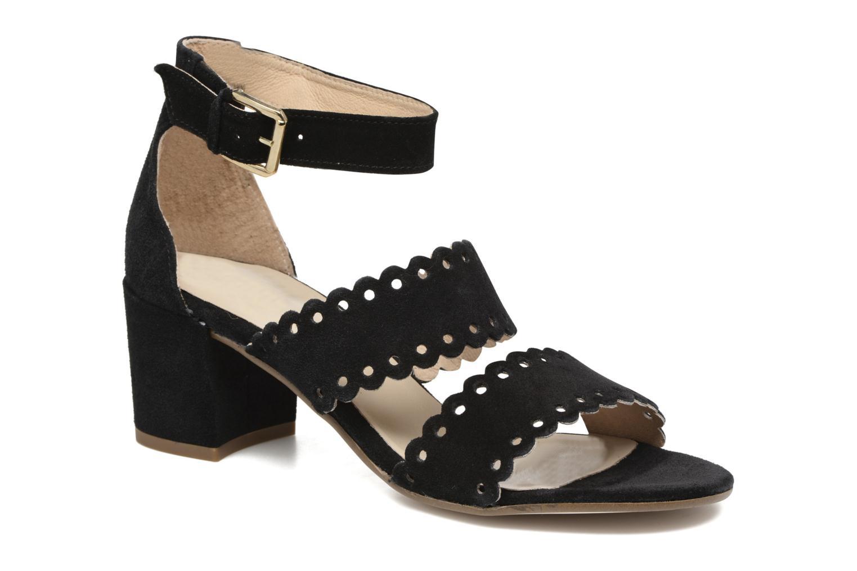 Sandales et nu-pieds Georgia Rose Loupik Noir vue détail/paire