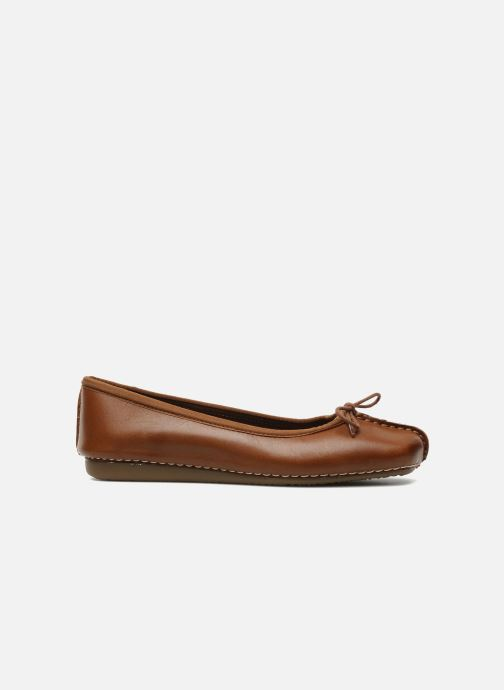 Ballerines Clarks Unstructured Freckle Ice Marron vue derrière