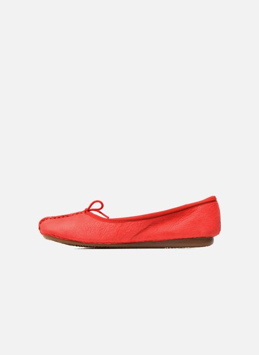 Ballerine Clarks Unstructured Freckle Ice Rosso immagine frontale