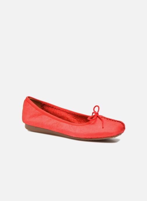 Ballerina's Clarks Unstructured Freckle Ice Rood detail
