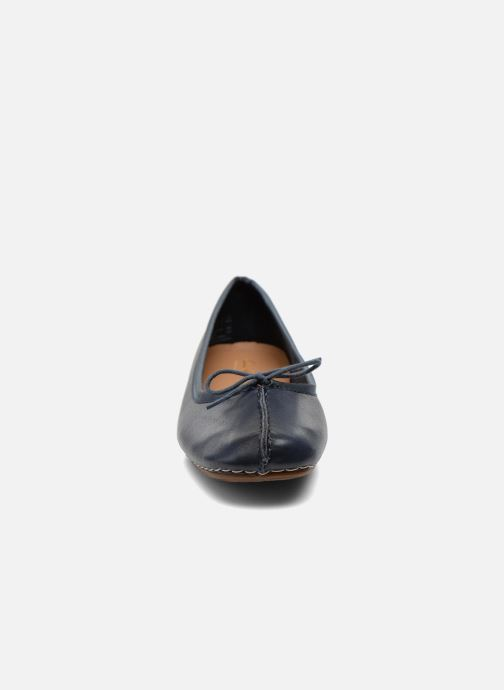 Ballerina's Clarks Unstructured Freckle Ice Blauw model