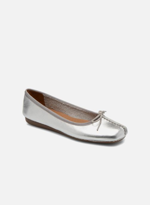 Clarks Unstructured Freckle Ice (silber) Ballerinas chez