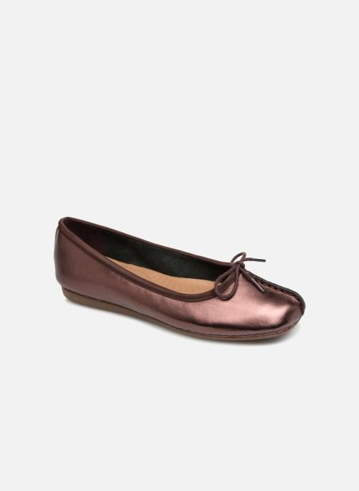 Ballet pumps Clarks Unstructured Freckle Ice Purple detailed view/ Pair view