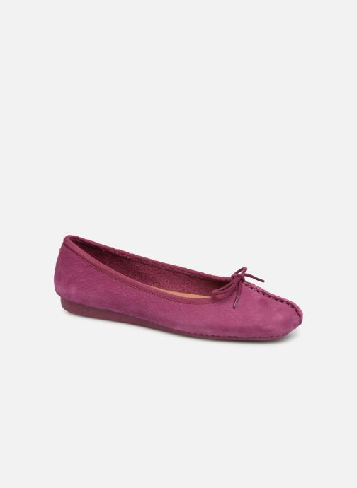 be65bc245d1315 Clarks Unstructured Freckle Ice (Violet) - Ballerines chez Sarenza ...