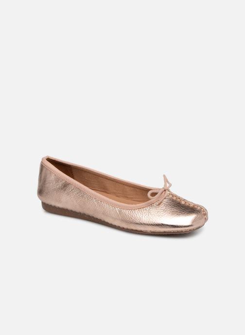 Ballerinas Clarks Unstructured Freckle Ice gold/bronze detaillierte ansicht/modell