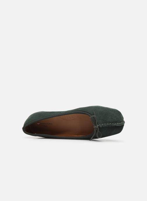 Ballerines Clarks Unstructured Freckle Ice Vert vue gauche