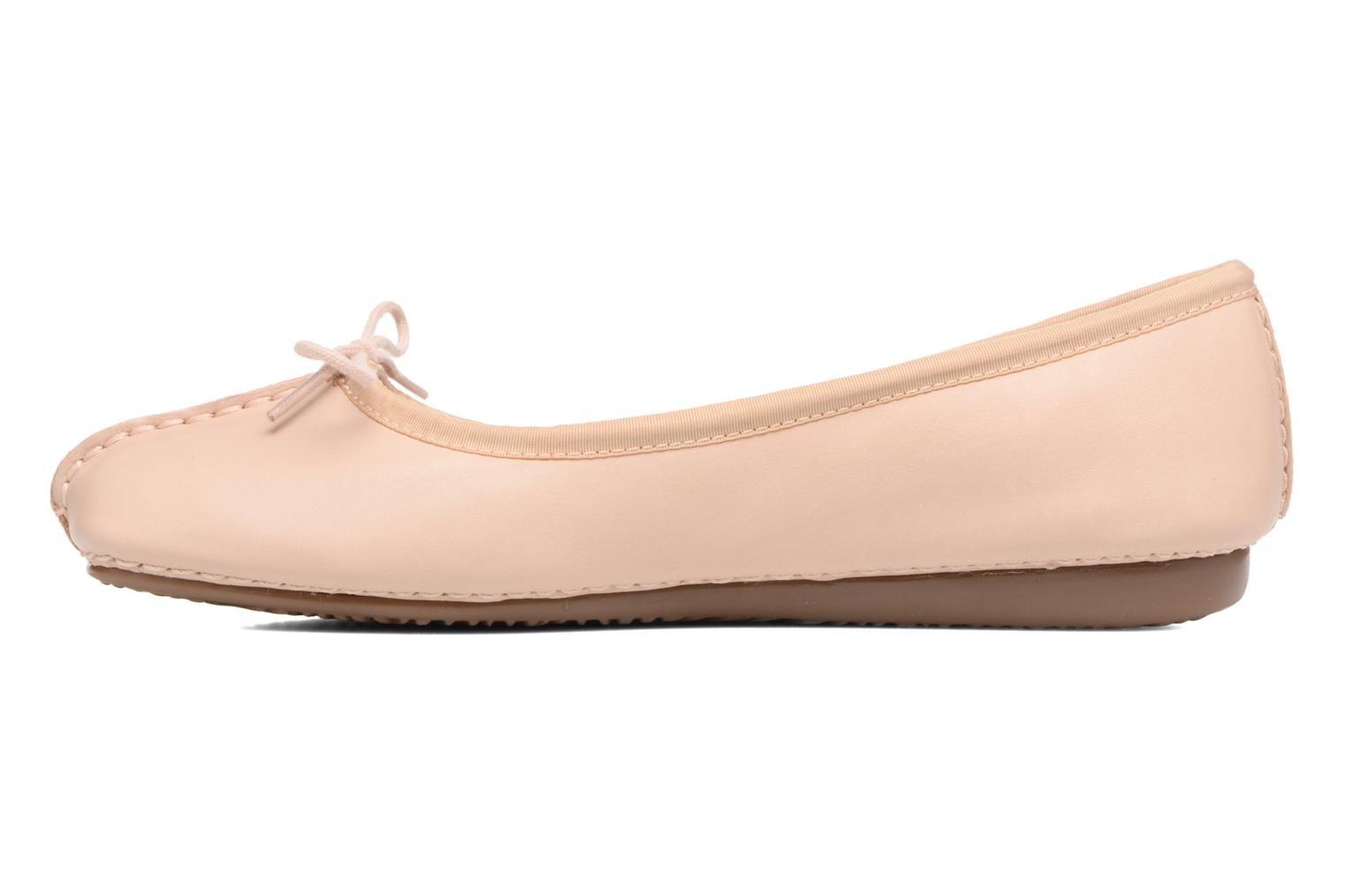 Ballerines Clarks Unstructured Freckle Ice Rose vue face