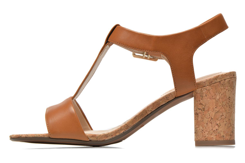 Sandales et nu-pieds Clarks Smart Deva Marron vue face