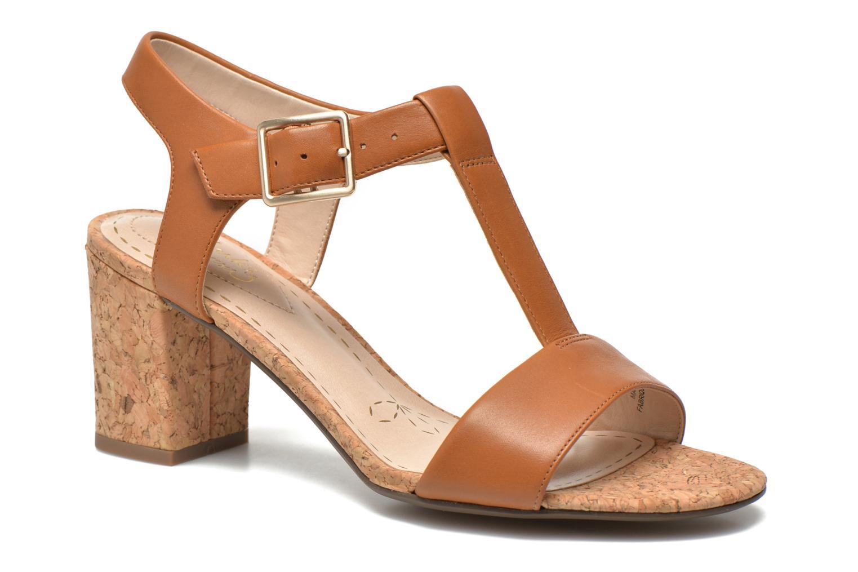 Sandales et nu-pieds Clarks Smart Deva Marron vue détail/paire