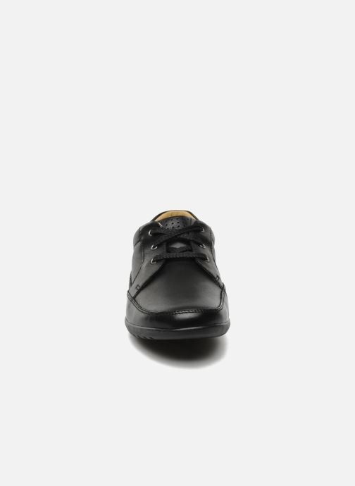 Lace-up shoes Clarks Recline Out Black model view