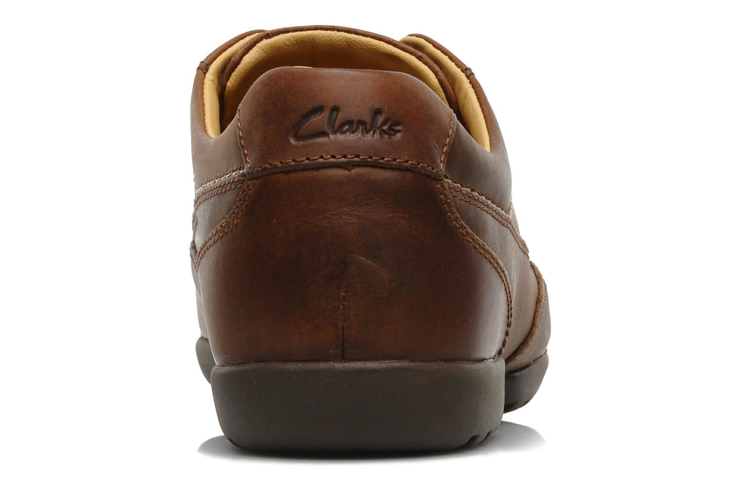 Veterschoenen Clarks Recline Out Bruin rechts