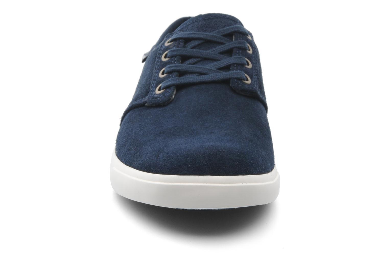 Zapatos con cordones Clarks Torbay Lace Azul vista del modelo
