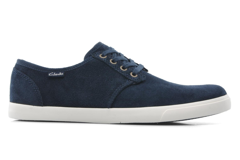 Zapatos con cordones Clarks Torbay Lace Azul vista lateral derecha