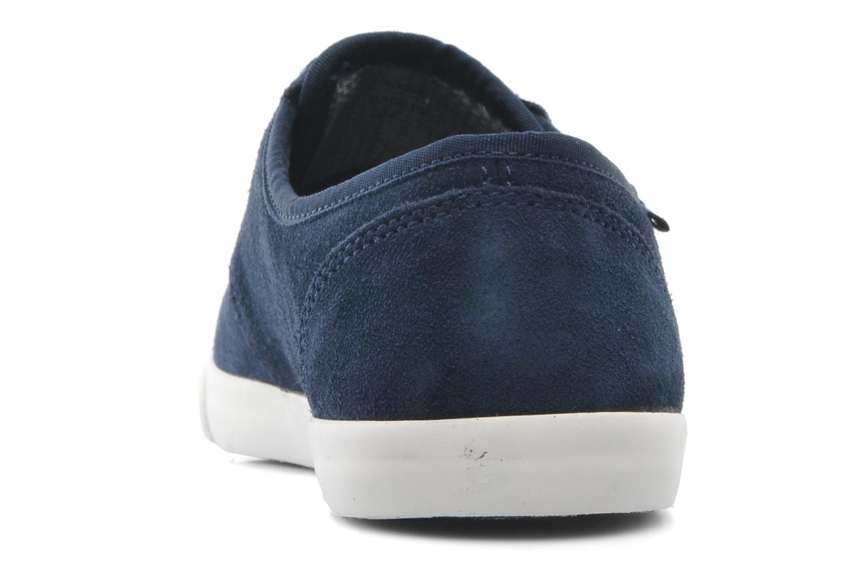 Zapatos con cordones Clarks Torbay Lace Azul vistra trasera