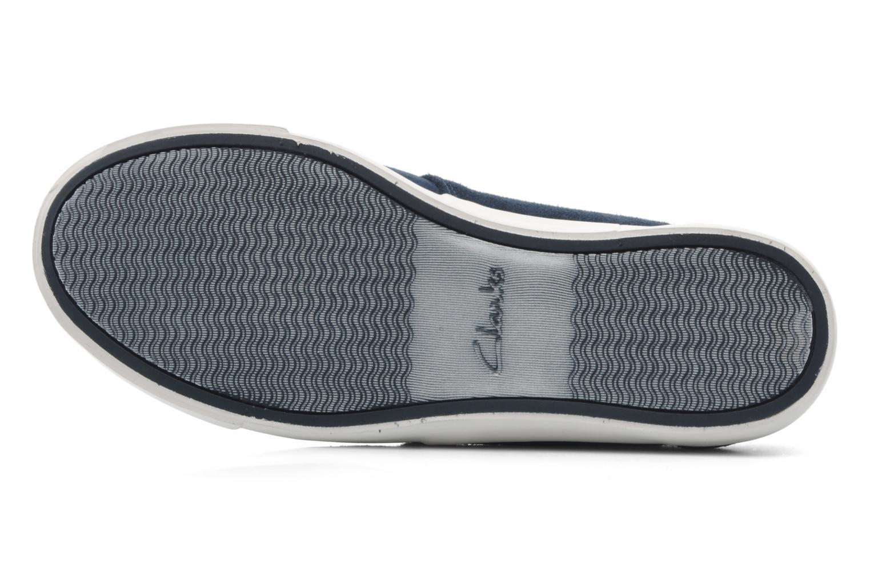 Zapatos con cordones Clarks Torbay Lace Azul vista de arriba
