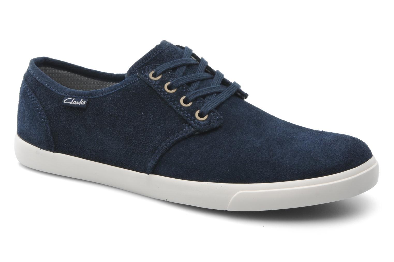 Zapatos con cordones Clarks Torbay Lace Azul vista de detalle / par