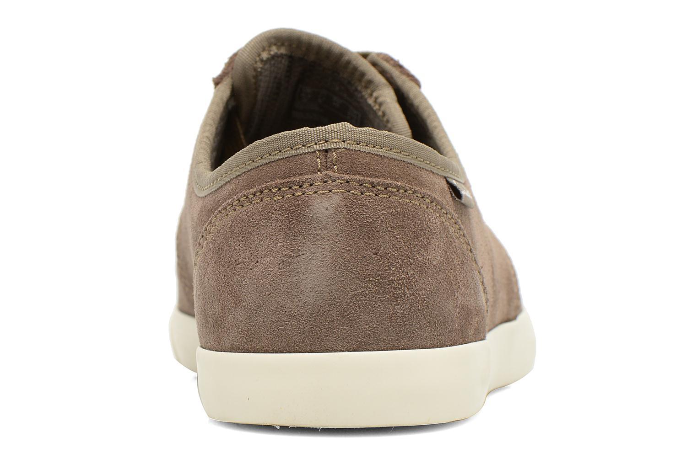 Chaussures à lacets Clarks Torbay Lace Gris vue droite