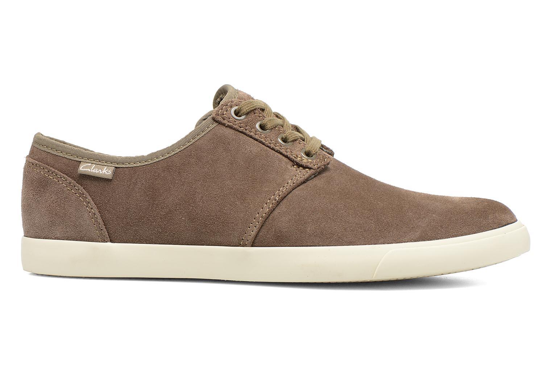 Zapatos con cordones Clarks Torbay Lace Gris vistra trasera
