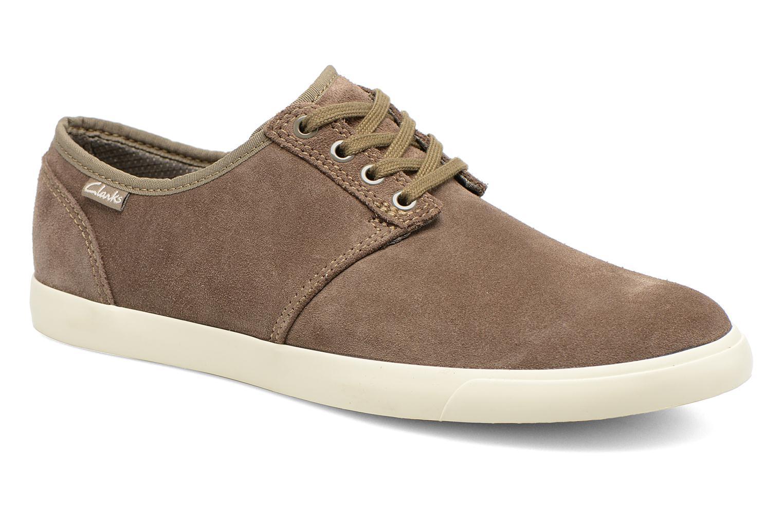Zapatos con cordones Clarks Torbay Lace Gris vista de detalle / par