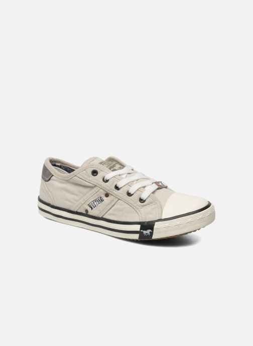 Trainers Mustang shoes Flaki Beige detailed view/ Pair view