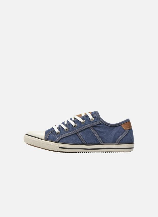 Baskets Mustang shoes Flaki Bleu vue face