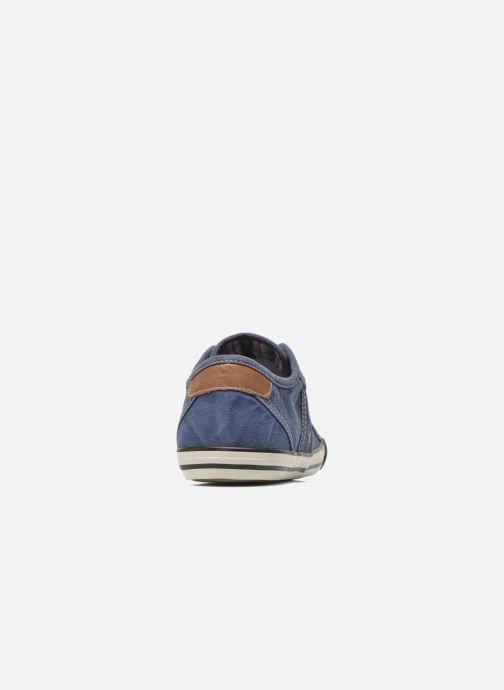 Sneakers Mustang shoes Flaki Blauw rechts
