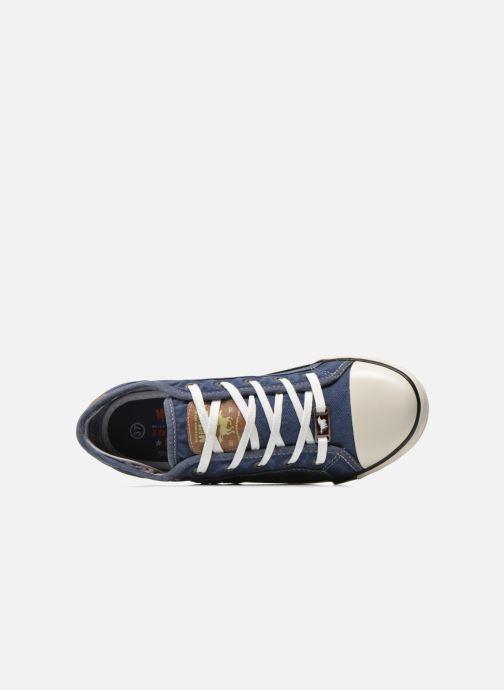 Baskets Mustang shoes Flaki Bleu vue gauche