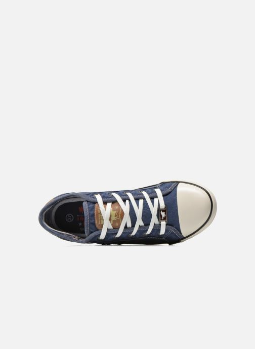 Sneakers Mustang shoes Flaki Azzurro immagine sinistra