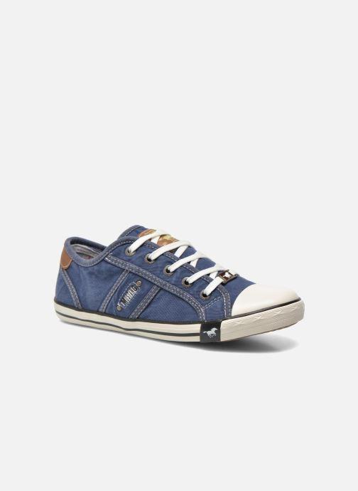 Sneakers Mustang shoes Flaki Azzurro vedi dettaglio/paio