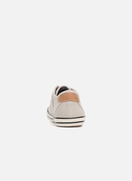 Baskets Mustang shoes Flaki Beige vue droite