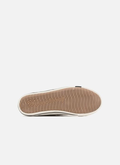 Baskets Mustang shoes Flaki Beige vue haut