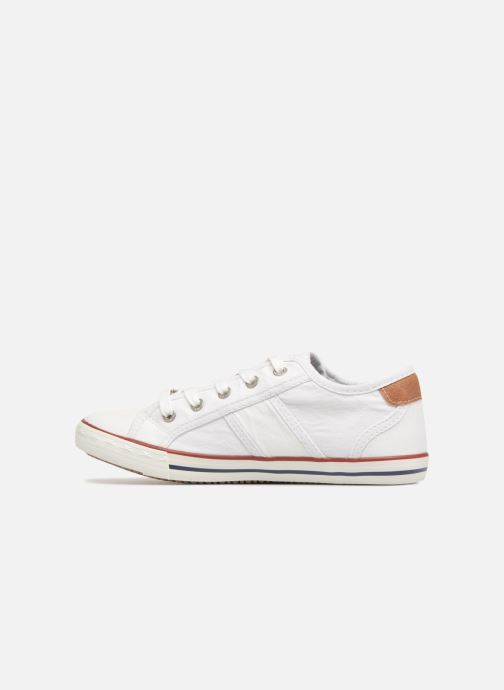 Sneakers Mustang shoes Flaki Bianco immagine frontale