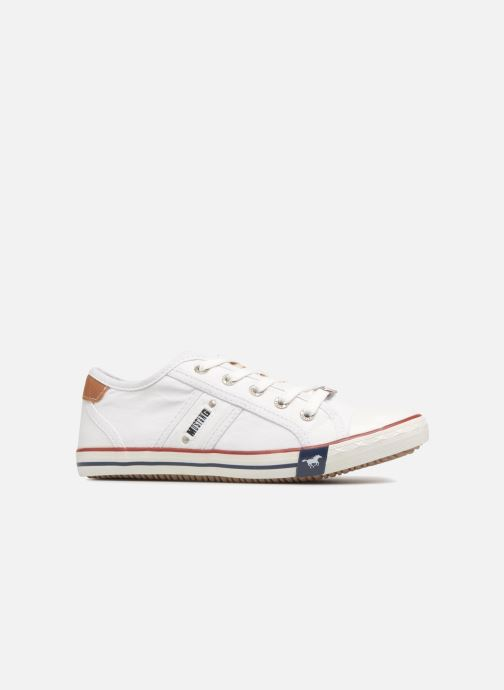 Sneakers Mustang shoes Flaki Bianco immagine posteriore
