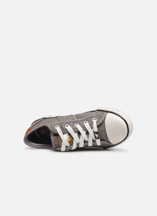 Baskets Mustang shoes Flaki Gris vue gauche