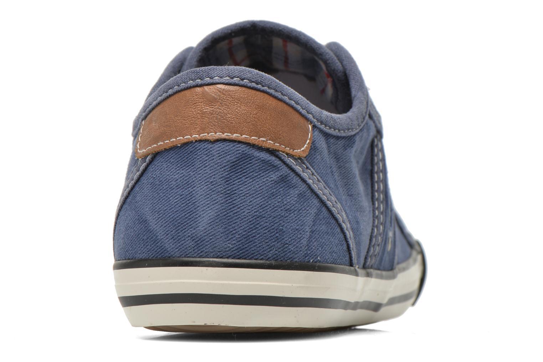 Baskets Mustang shoes Flaki Bleu vue droite