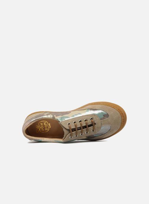 Sneakers Pom d Api School Tennis Multicolore immagine sinistra