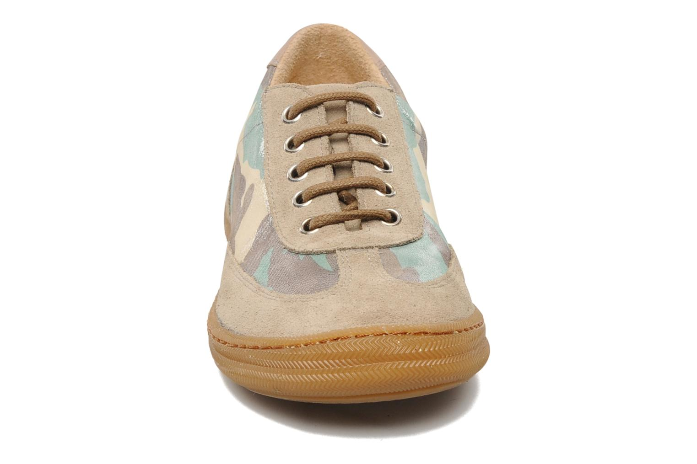Baskets Pom d Api School Tennis Multicolore vue portées chaussures