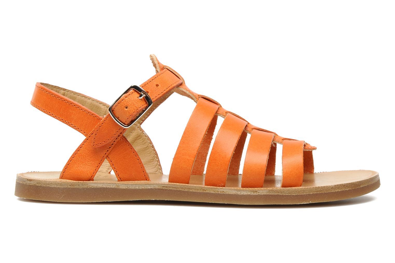 Sandales et nu-pieds Pom d Api Plagette Strap Natur Orange vue derrière