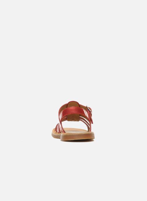 Sandalen Pom d Api Plagette Strap Roze rechts