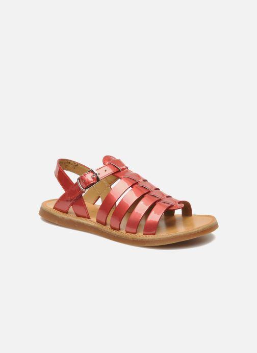 Sandalen Pom d Api Plagette Strap Roze detail