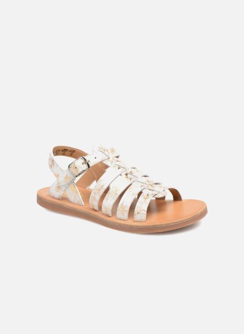 63c5362c76fd Pom d Api Plagette Strap (White) - Sandals chez Sarenza (319906)