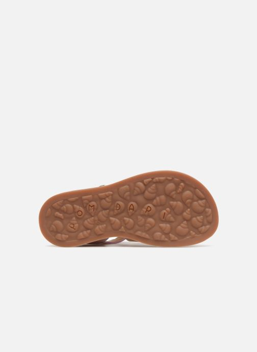 Sandales et nu-pieds Pom d Api Plagette Strap Rose vue haut