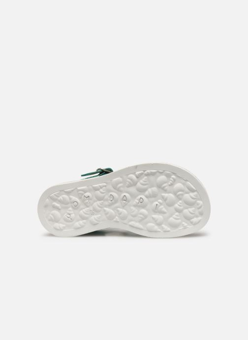 Sandals Pom d Api Plagette Strap Silver view from above