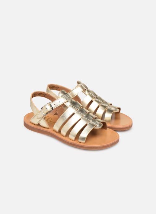 Sandalen Pom d Api Plagette Strap gold/bronze 3 von 4 ansichten