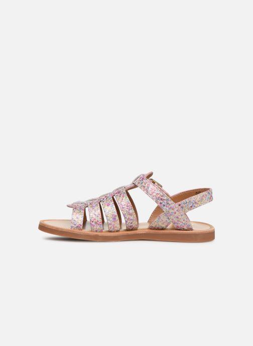 Sandales et nu-pieds Pom d Api Plagette Strap Multicolore vue face