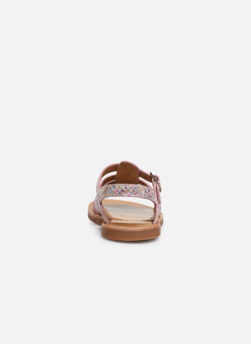 Sandales et nu-pieds Pom d Api Plagette Strap Multicolore vue droite