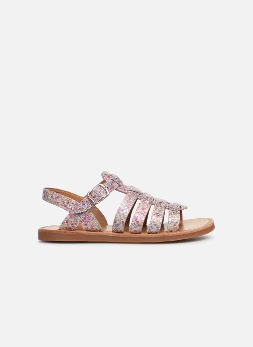 Sandales et nu-pieds Pom d Api Plagette Strap Multicolore vue derrière